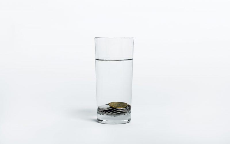 чаша за вода-оцет